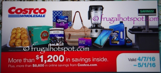 Costco Coupon Book: April 7, 2016 - May 1, 2016. | Frugal Hotspot