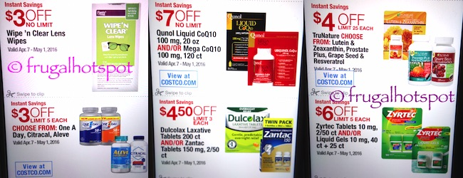 Costco Coupon Book: April 7, 2016 - May 1, 2016. Prices Listed. | Frugal Hotspot P. 14