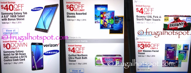 Costco Coupon Book: April 7, 2016 - May 1, 2016. Prices Listed. | Frugal Hotspot P. 2