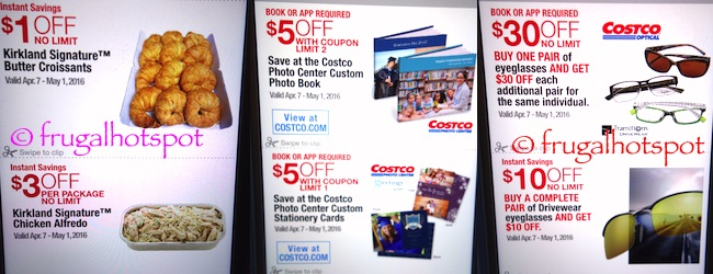 Costco Coupon Book: April 7, 2016 - May 1, 2016. Prices Listed. | Frugal Hotspot P. 21