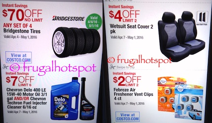 Costco Coupon Book: April 7, 2016 - May 1, 2016. Prices Listed. | Frugal Hotspot P. 22
