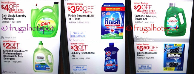 Costco Coupon Book: April 7, 2016 - May 1, 2016. Prices Listed. | Frugal Hotspot P. 6