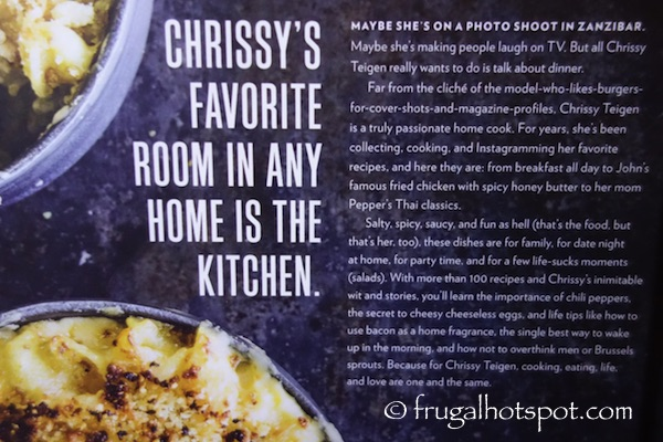 Cravings: Recipes For All The Food You Want To Eat by Chrissy Teigen Costco | Frugal Hotspot