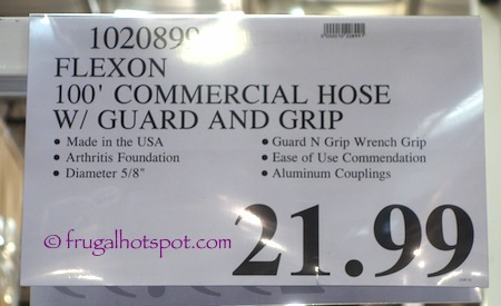 Flexon 100' Flextreme Commercial Hose with Guard and Grip Costco Price | Frugal Hotspot