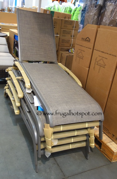 Kirkland Signature Commercial Sling Chaise Lounge Costco | Frugal Hotspot