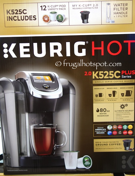 Keurig Hot 2.0 K525C Coffee Maker Costco | Frugal Hotspot