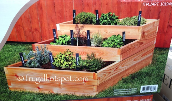 YardCraft by Lapp Structures Raised Garden Bed Costco | Frugal Hotspot