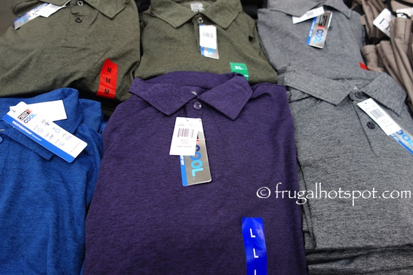 32 Degrees Weatherproof Men's Polo Shirt Costco | Frugal Hotspot