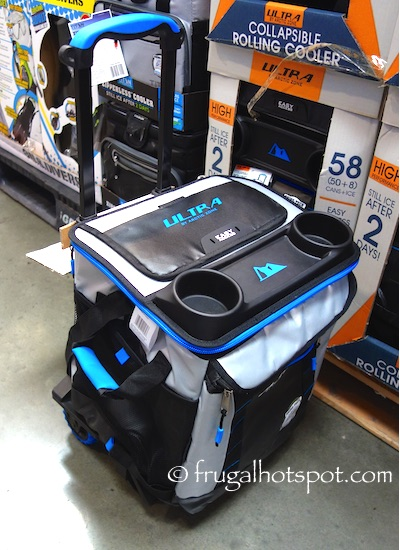California Innovations Arctic Zone Ultra 58-Can Collapsible Rolling Cooler Costco | Frugal Hotspot