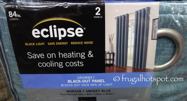 Eclipse Black-Out Panel 2-Pack Costco Blue | Frugal Hotspot