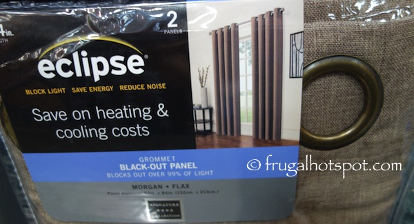 Eclipse Black-Out Panel 2-Pack Costco | Frugal Hotspot