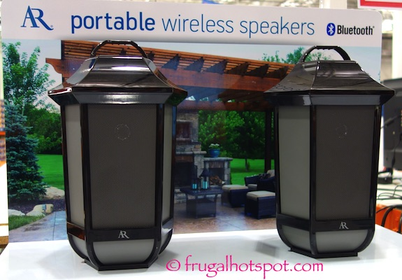 Acoustic Research Glendale Portable Wireless Speaker 2-Pack Costco | Frugal Hotspot