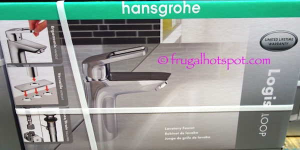 Hansgrohe Logis Loop Chrome Bath Faucet Costco | Frugal Hotspot