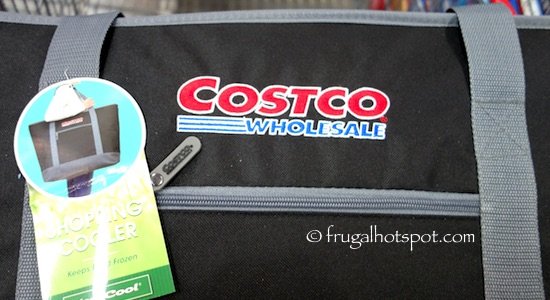 Keep Cool Insulated Shopping Cooler / Freezer Tote Costco | Frugal Hotspot