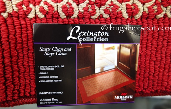 "Mohawk Lexington Collection 30"" x 46"" Accent Rug Costco 