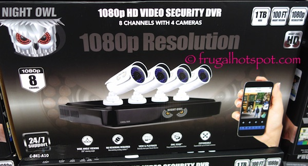 Night Owl HD Surveillance System Costco | Frugal Hotspot