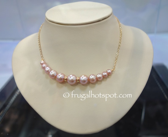 Pink Freshwater Pearl Necklace Costco | Frugal Hotspot
