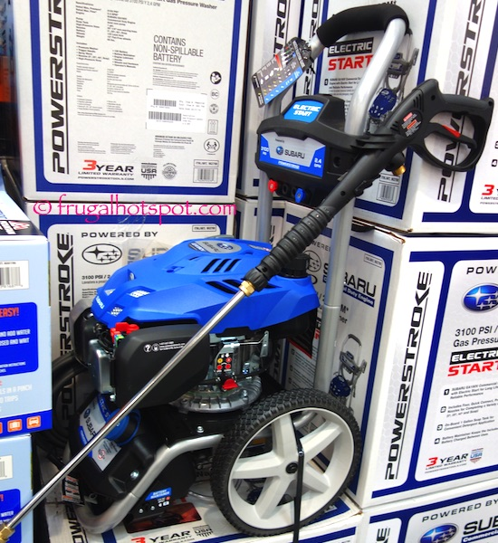 Powerstroke Gas Pressure Washer with Subaru Engine Costco | Frugal Hotspot