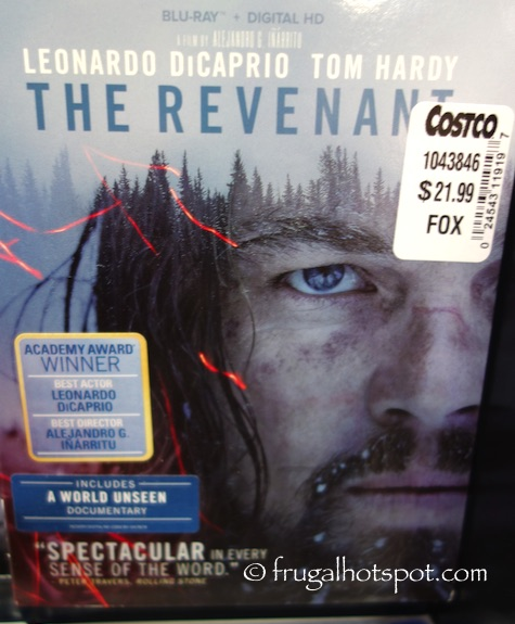 The Revenant Blu-ray + Digital HD Costco | Frugal Hotspot