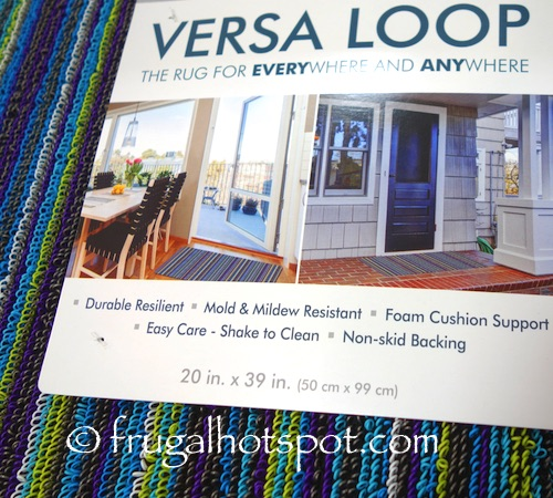 """Town and Country Versa Loop Rug 20"""" x 39"""" Costco 
