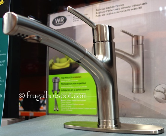 Costco Sale Water Ridge Euro Style Pull Out Kitchen Faucet 99 Frugal Hotspot
