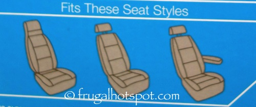 Winplus Wetsuit Seat Covers 2-Piece + Bonus 2 Seat Belt Pads Costco | Frugal Hotspot