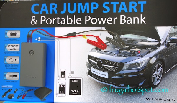 Winplus Car Jump Start And Portable Power Bank Costco