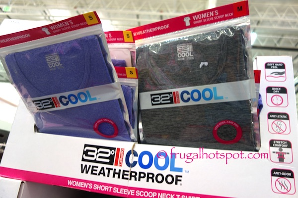 Costco sale weatherproof 32 degrees cool women 39 s t shirt for Costco t shirt printing