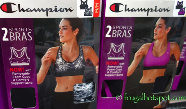 e1103c407a Costco Sale  Champion Ladies Sports Bra 2-Pack  14.99