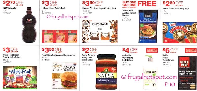 Costco Coupon Book: June 9, 2016 - July 3, 2016. Page 10. | Frugal Hotspot