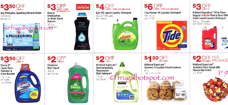 Costco Coupon Book: June 9, 2016 - July 3, 2016. Page 9. | Frugal Hotspot