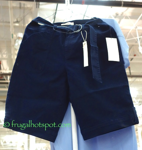 Gloria Vanderbilt Sierra Ladies Belted Bermuda Shorts Costco | Frugal Hotspot