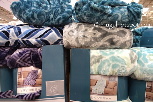 Costco Clearance Life Comfort Silky Soft Throw 4040 Frugal Hotspot Enchanting Costco Blankets And Throws