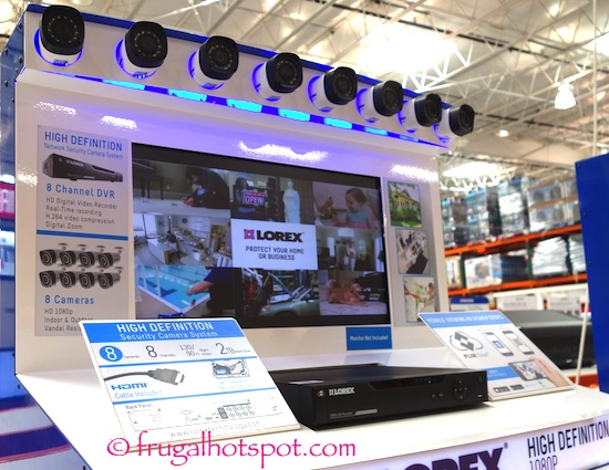 Lorex by Flir 8-Channel Surveillance System Costco | Frugal Hotspot
