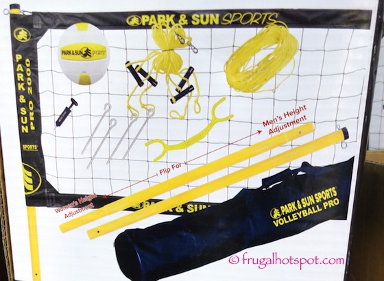 Park & Sun Pro 2000 Portable Volleyball System Costco | Frugal Hotspot