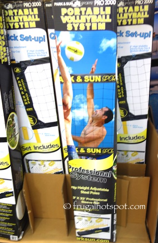Park & Sun Pro 2000 Portable Volleyball System Costco   Frugal Hotspot