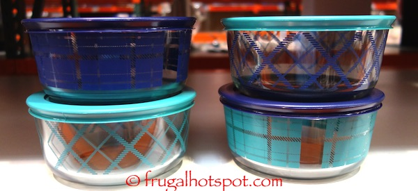 Costco: Pyrex Simply Store Decorated Glass Storage Container 8-Pc $14.99