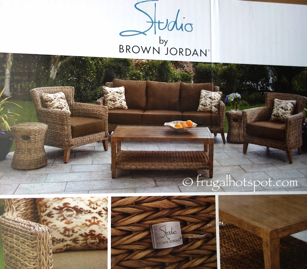 Costco Studio By Brown Jordan 6 Pc Seating Set 1 Frugal Hotspot