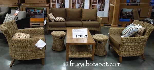 Studio by Brown Jordan 6-Piece Seating Set Costco | Frugal Hotspot