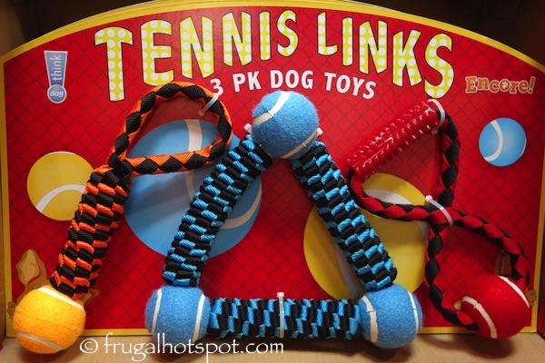 Think! Dog Tennis Links 3-Pack Dog Toys Costco | Frugal Hotspot