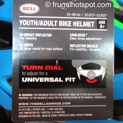 Bell Track Adult/Youth Bike Helmet Costco | Frugal Hotspot