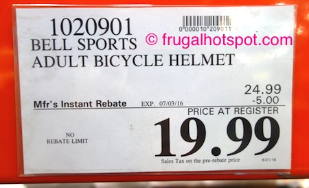 Bell Track Adult/Youth Bike Helmet Costco Price | Frugal Hotspot