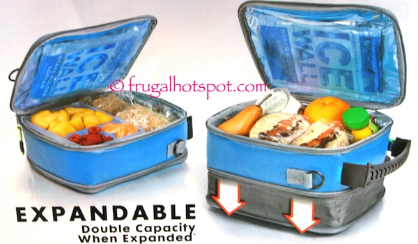 California Innovations Ultra by Arctic Zone Expandable Lunch Pack Costco | Frugal Hotspot