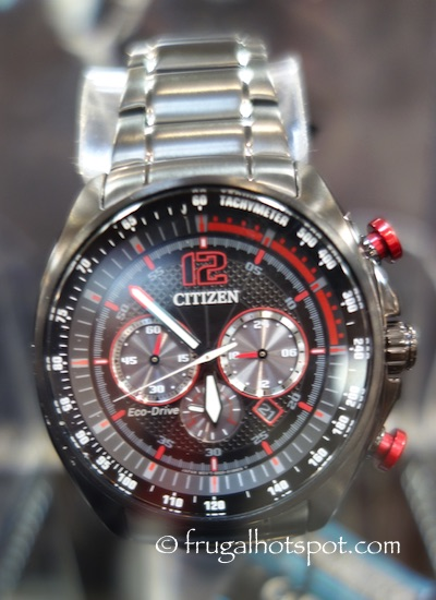 Citizen Eco-Drive Mens Stainless Steel Chronograph Watch Costco | Frugal Hotspot