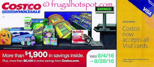 Costco Coupon Book: August 4, 2016 – August 28, 2016. | Frugal Hotspot
