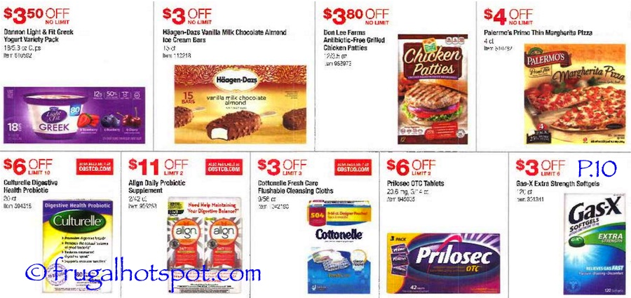 Costco Coupon Book: July 7, 2016 - July 31, 2016. Prices Listed. Page 10 | Frugal Hotspot