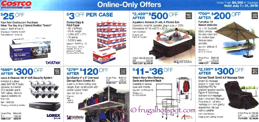 Costco Coupon Book: July 7, 2016 - July 31, 2016. Prices Listed. Page 14 | Frugal Hotspot