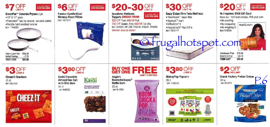 Costco Coupon Book: July 7, 2016 - July 31, 2016. Prices Listed. Page 6 | Frugal Hotspot