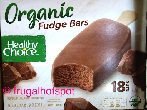 Healthy Choice Organic Fudge Bars Costco | Frugal Hotspot