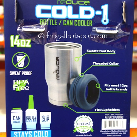 Reduce Cold-1 Bottle/Can Cooler 2-Pack Costco | Frugal Hotspot